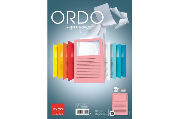 ELCO Organisationsmappen Ordo A4 73695.51 rosa 10 Stück