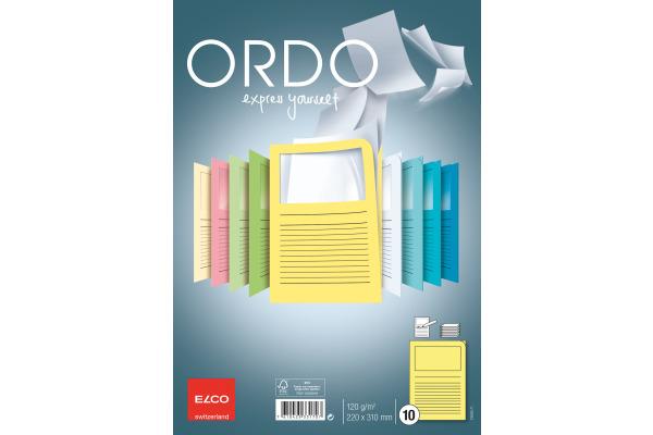 ELCO Organisationsmappen Ordo A4 73695.71 gelb 10 Stück