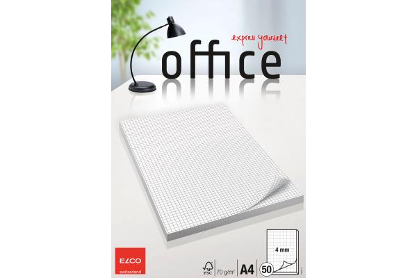 ELCO Schreibblock Office A4 74403.17 kariert, 70g 50 Blatt