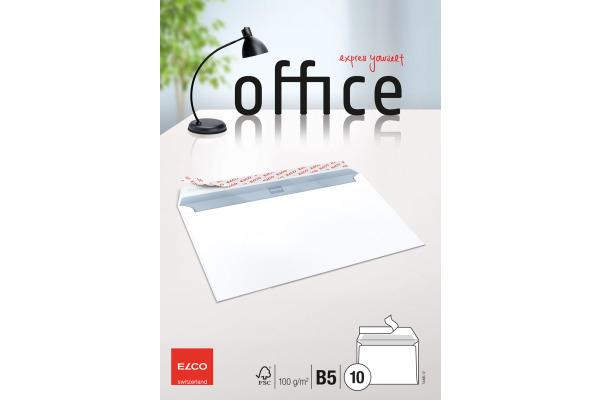 ELCO Couvert Office o Fenster B5 74495.12 100g, weiss 10...