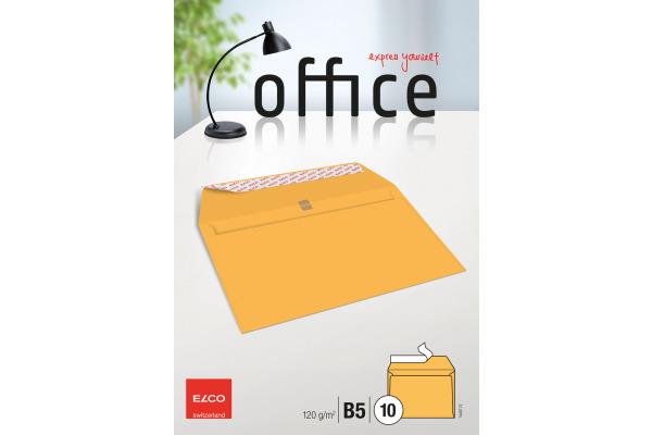 ELCO Couvert Office o/Fenster B5 74497.72 120g, gelb 10 Stück