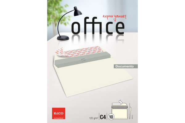 ELCO Couvert Office C4 74516.12 120g, beige, Klebung 10...