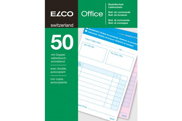 ELCO Bestellung/Lieferschein A6 74590.19 60g 50x2 Blatt