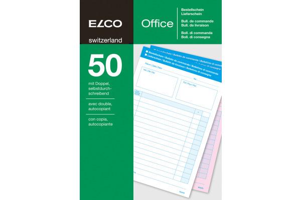 ELCO Bestellung/Lieferschein A5 74593.19 60g 50x2 Blatt