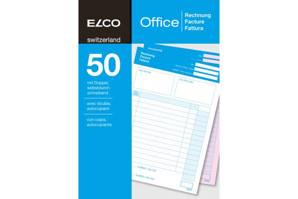 ELCO Rechnung A5 74594.19 60g 50x2 Blatt