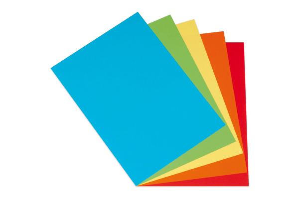 A4 Multifunktionspapier 80g//qm Farbiges Papier intensiv 40 Blatt Druckerpapier!
