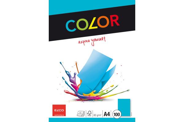 ELCO Office Color Papier A4 74616.32 80g, intensiv blau...