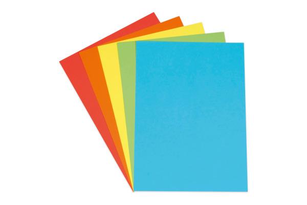 ELCO Zeichenpapier A3 74645 120g, farbig 35 Blatt