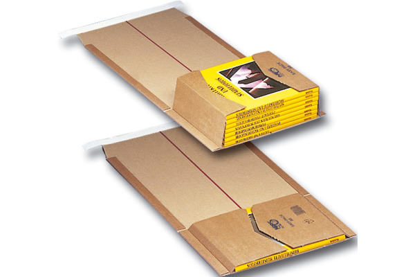 ELCO Verpackung Easy Pack 845641114 braun, 155x215x58mm 2...