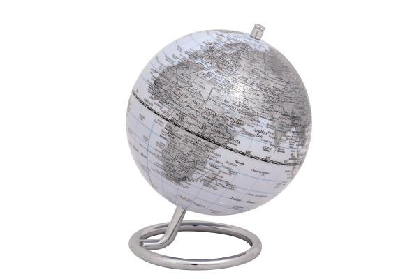 EMFORM Globus MINI GALILEI SE-0763 Höhe 17, Ø 13cm weiss