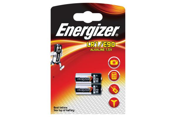 ENERGIZER Batterien Spezial 1.5V LR1/E90 2 Stück