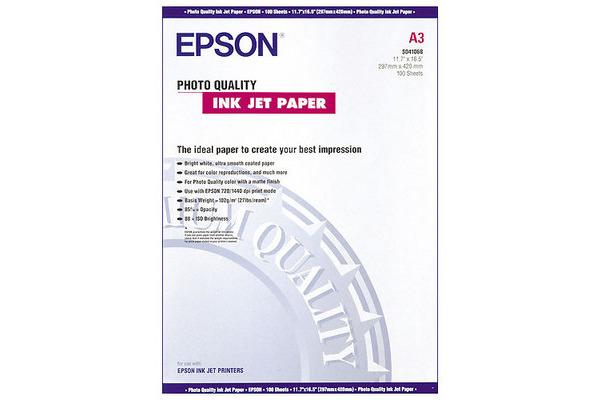 EPSON Photo Paper A3 S041068 InkJet 102g 100 Blatt