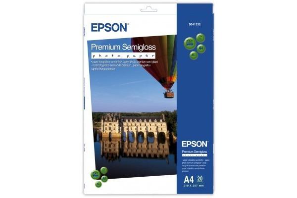 EPSON Premium semigl. Photo Paper A4 S041332 InkJet 251g 20 Blatt