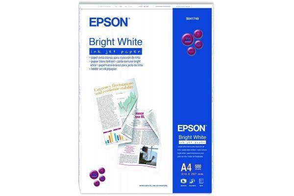 EPSON Bright White Paper A4 S041749 InkJet 90g 500 Blatt