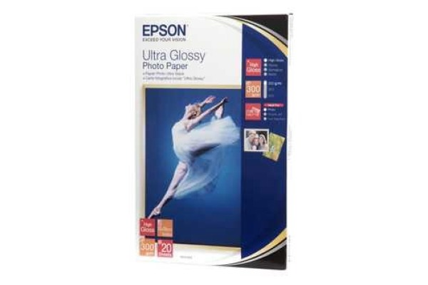 EPSON Ultra Glossy Photo 10x15cm S041926 Stylus DX 3800 300g 20 Blatt