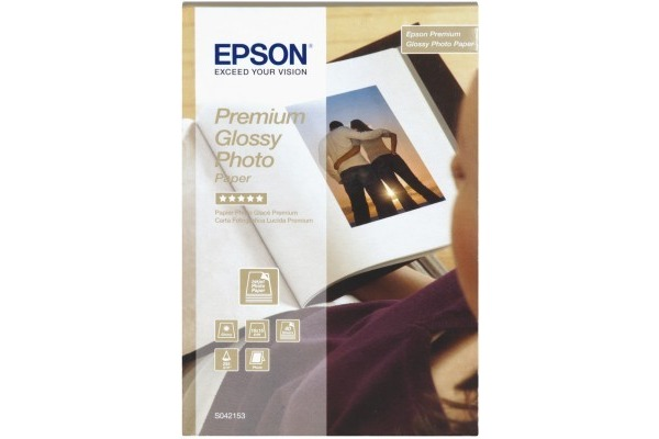 EPSON Premium Glossy Photo 10x15cm S042153 InkJet, 255g 40 Blatt