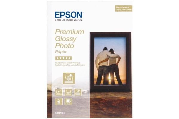 EPSON Premium Glossy Photo 13x18cm S042154 InkJet, 255g 30 Blatt