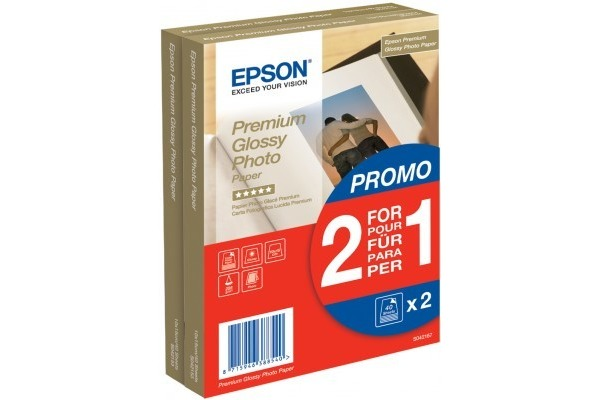 EPSON Premium Glossy Photo 10x15cm S042167 InkJet, 255g...