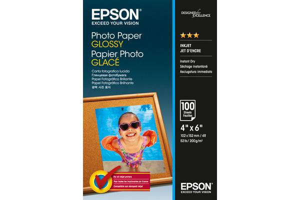 EPSON Photo Paper Glossy 10x15cm S042548 InkJet 200g 100...