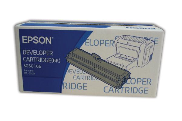 EPSON Toner-Modul schwarz S050166 EPL 6200 6000 Seiten