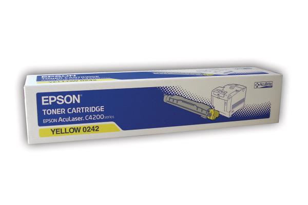 EPSON Toner-Modul yellow S050242 AcuLaser C4200 10´000 Seiten