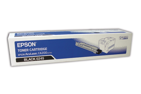 EPSON Toner-Modul schwarz S050245 AcuLaser C4200 10´000 Seiten