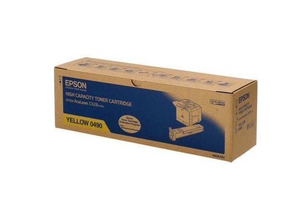 EPSON Toner-Modul HY yellow S050490 AcuLaser CX28DN 8000 Seiten