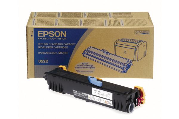 EPSON Toner-Modul schwarz S050522 AcuLaser M1200 1800 Seiten