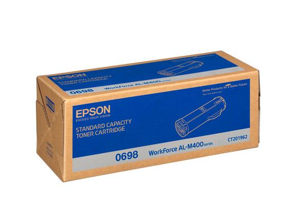 EPSON Toner-Modul schwarz S050698 AL-M400 12´000 Seiten