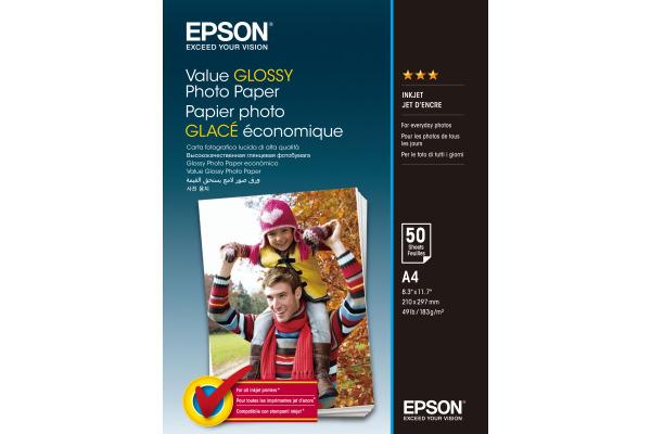 EPSON Value Photo Paper A4 S400036 InkJet 183g 50 Blatt