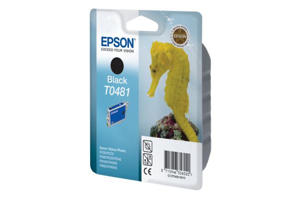 EPSON Tintenpatrone schwarz T048140 Stylus Photo R300/RX500 630 S.