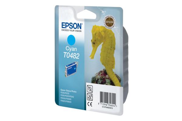 EPSON Tintenpatrone cyan T048240 Stylus Photo R300/RX500 430 S.