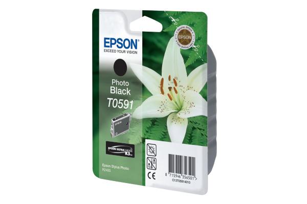 EPSON Tintenpatrone K3 photo-black T059140 Stylus Photo R2400 640 Seiten