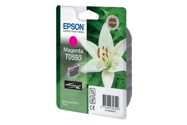 EPSON Tintenpatrone K3 magenta T059340 Stylus Photo R2400 520 Seiten