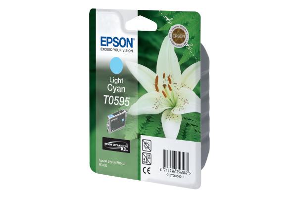 EPSON Tintenpatrone K3 light cyan T059540 Stylus Photo R2400 520 Seiten
