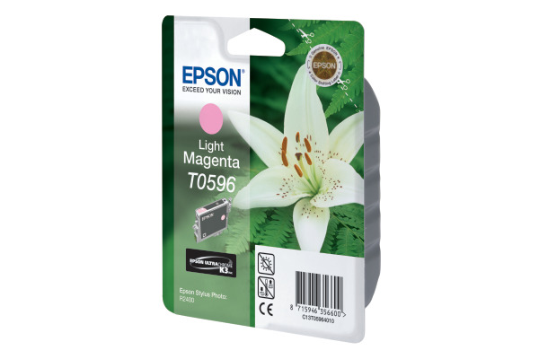 EPSON Tintenpatrone K3 light magenta T059640 Stylus Photo R2400 520 Seiten