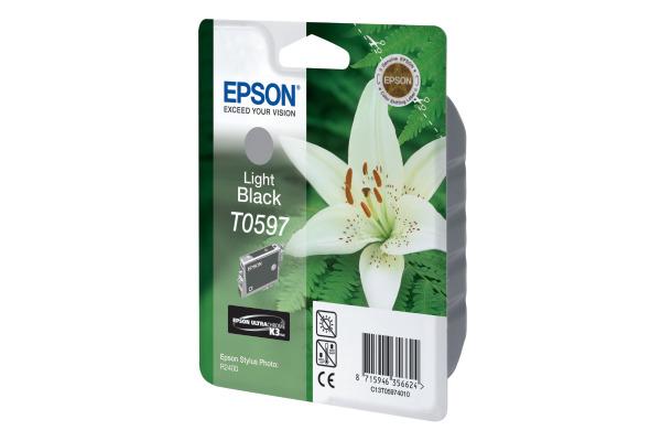 EPSON Tintenpatrone K3 light black T059740 Stylus Photo R2400 520 Seiten
