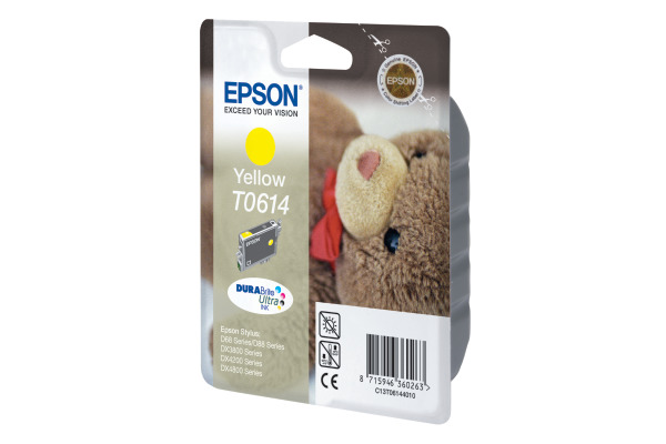 EPSON Tintenpatrone yellow T061440 Stylus Photo DX4850 250 Seiten