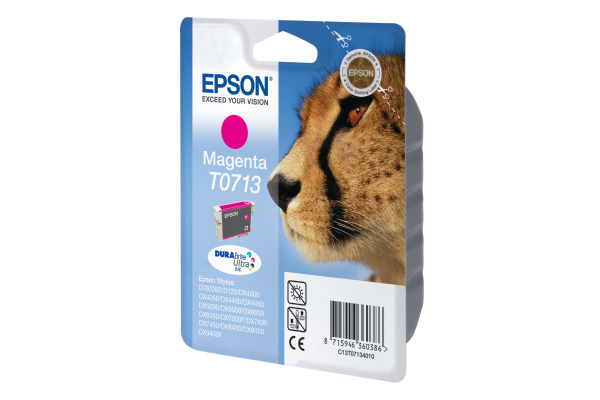 EPSON Tintenpatrone magenta T071340 Stylus DX4000 270 Seiten