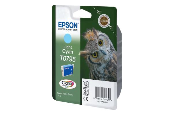EPSON Tintenpatrone light cyan T079540 Stylus Photo 1400 660 Seiten