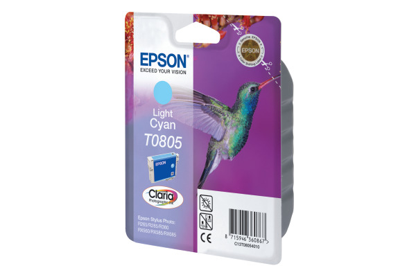 EPSON Tintenpatrone light cyan T080540 Stylus Photo R265 410 Seiten