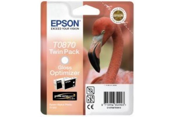 EPSON Tintenpatrone gloss optimizer T087040 Stylus Photo R1900 2x11.4ml