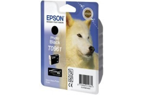 EPSON Tintenpatrone photo schwarz T096140 Stylus Photo R2880 11.4ml
