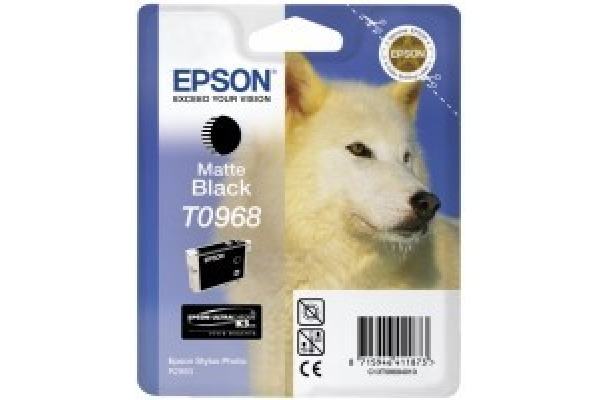 EPSON Tintenpatrone matte black T096840 Stylus Photo R2880 11.4ml