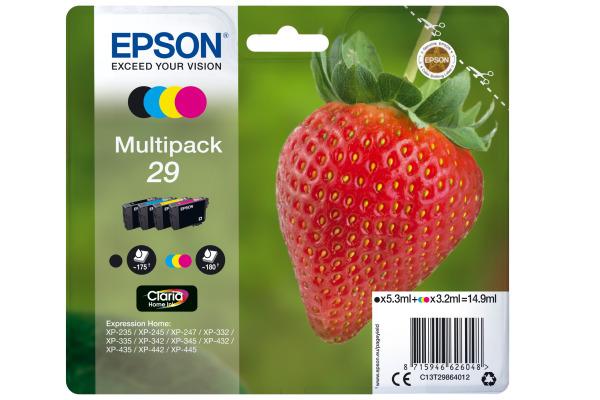 Pack cartouche d'encre EPSON 29 CMJN Originale