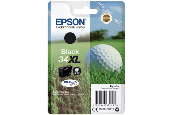 EPSON Tintenpatrone XL schwarz T347140 WF-3720/3725DWF...