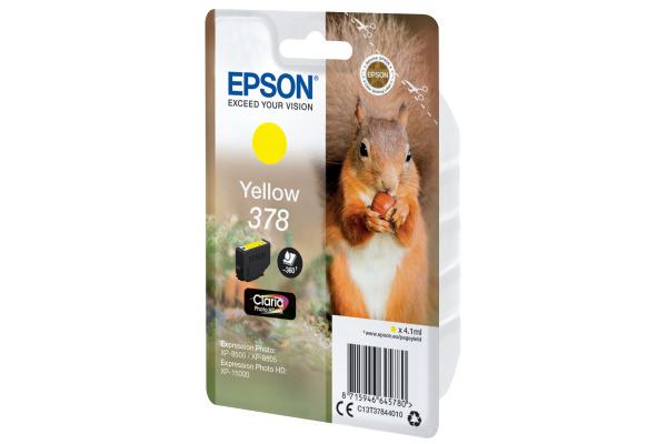EPSON Tintenpatrone 378 yellowow T378440 XP-8500 8505 15000 360 Seiten