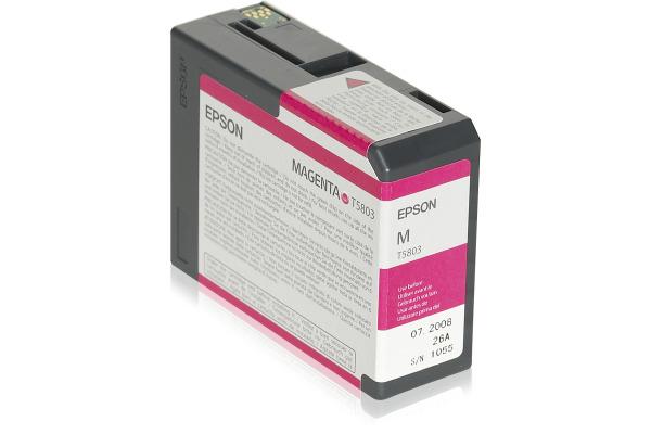 EPSON Tintenpatrone magenta T580300 Stylus Pro 3800 80ml