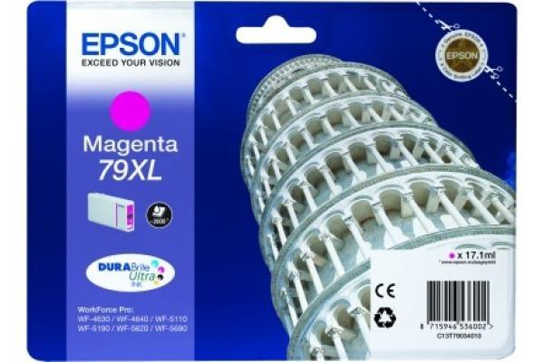 EPSON Tintenpatrone XL magenta T790340 WF 5110/5620 2000...