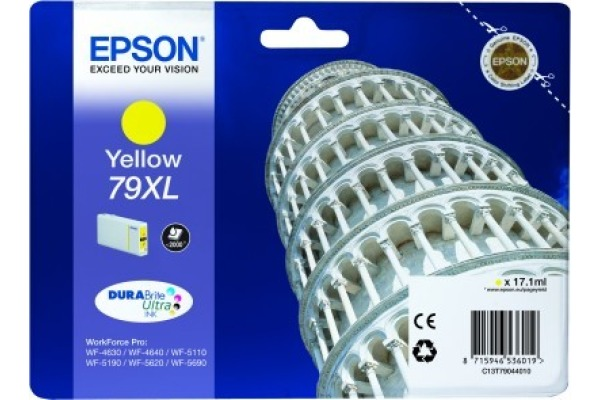 EPSON Tintenpatrone XL yellow T790440 WF 5110/5620 2000...